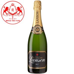 Ruou Vang Champagne Lanson Black Label Brut