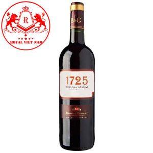 B&g 1725 Bordeaux Reserve Rouge Aop Bordeaux