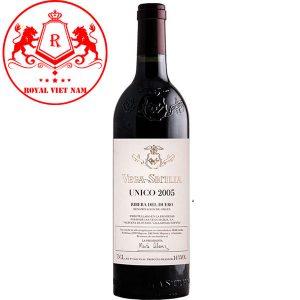 Rượu Vang Vega Sicilia Unico 2005