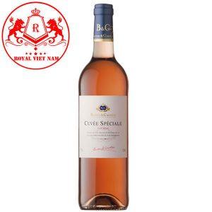 Rượu Vang Cuvee Speciale Rose Vin Rose