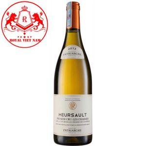 Rượu Vang Patriarche Meursault Chames