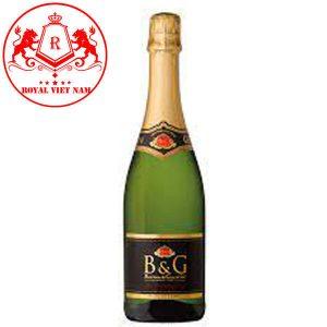 Rượu Vang Sparkling Blanc De Blanc Square Label