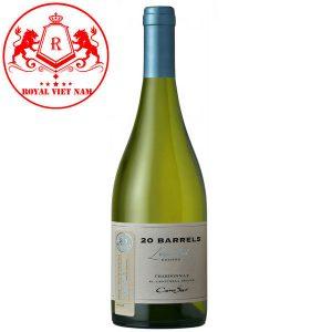 Rượu Vang Cono Sur 20 Barrel Chardonnay