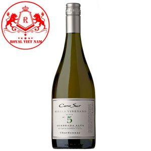 Rượu Vang Cono Sur Single Vineyard Chardonnay