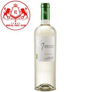 Rượu Vang G7 Clasico Trắng