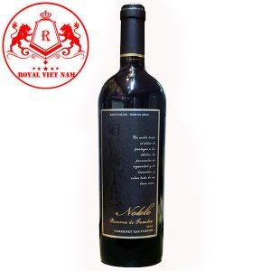 Rượu Vang Noble Reserva De Familia Cabernet Sauvignon