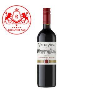 Ruou Vang Valdivieso Winemaker Reserva Merlot