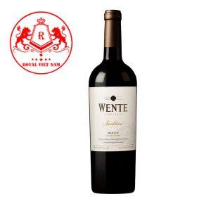 Rượu Vang Wente Sandstone Merlot